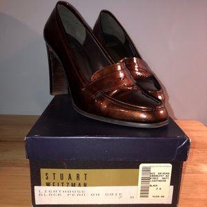 NWT Stuart Weitzman Vintage Patent Leather Heels